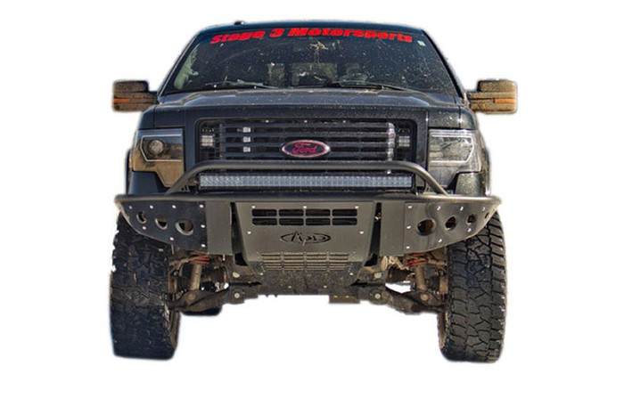 2011-2014 F150 EcoBoost ADD Stealth Paneled Vented Front Off-Road Bumper