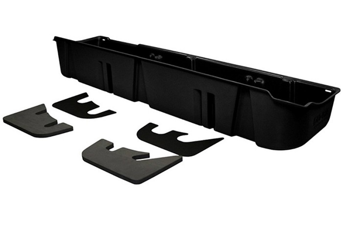 2009-2014 F150 SuperCrew DU-HA Underseat Storage Unit (w/o Subwoofer)