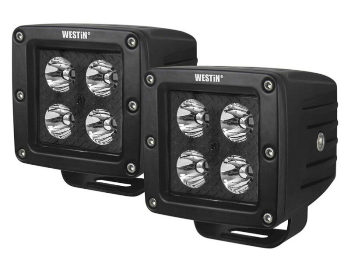 Westin HyperQ B-Force LED Off-Road Auxiliary Lights (Set of 2)