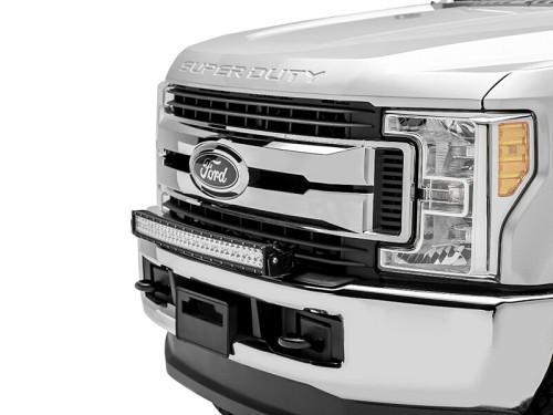 2017 2018 f250 f350 zroadz front bumper led light mount kit w 30 click to expand aloadofball Image collections
